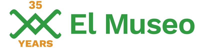 El Museo 35 years logo
